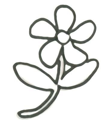 Gemütlich Einfache Malvorlagen Blumen Ideen - Entry Level Resume ...